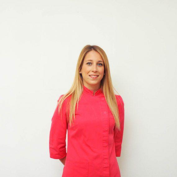 Chiara Fantuzzi dello Studio Dentistico Pasini Steffan Celant Rosso